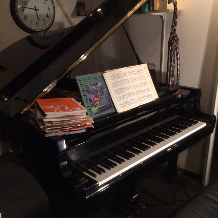 Pianoles thuis 1