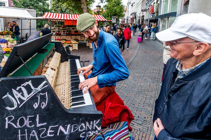 Piano op bakfiets
